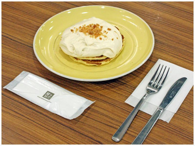 マカダミアナッツパンケーキイメージ
