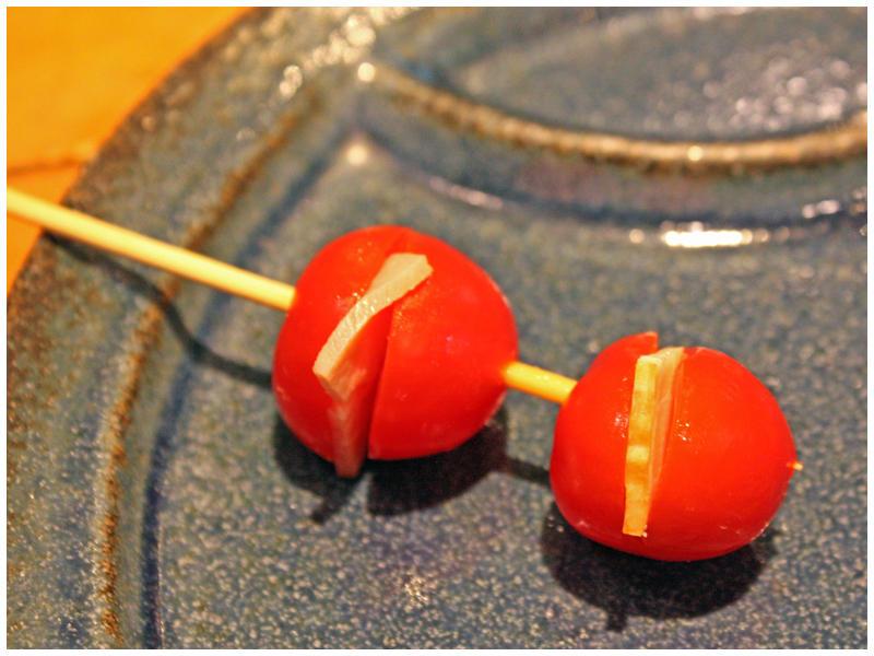 トマトとベーコンのはさみ揚げイメージ