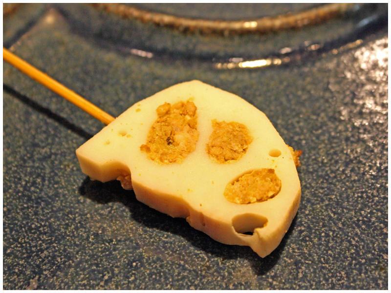 レンコンのミンチ詰め(カレー味)イメージ